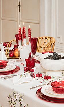 Mesa navideña Zara Home comidas navideñas
