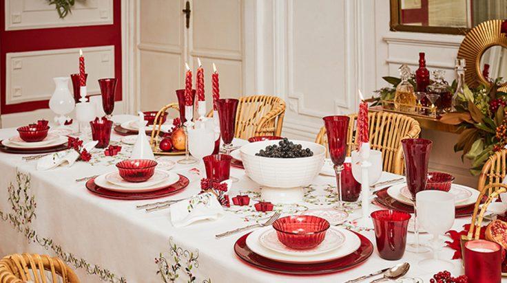 Mesa Zara Home Comidas navideñas