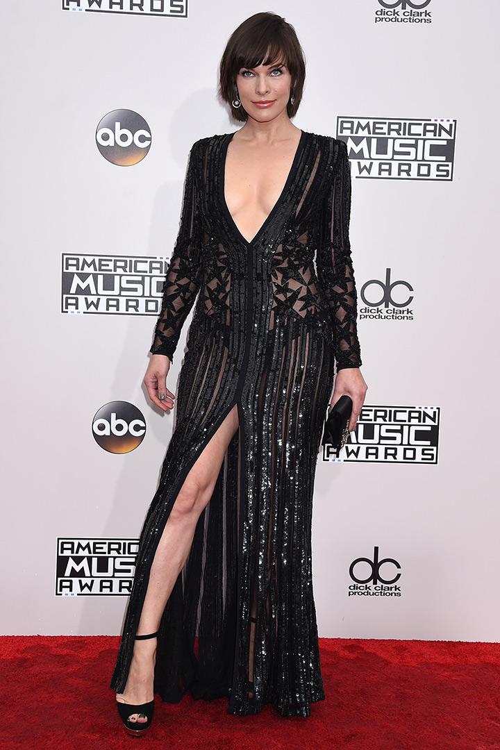 Milla Jovovch American Music Awards