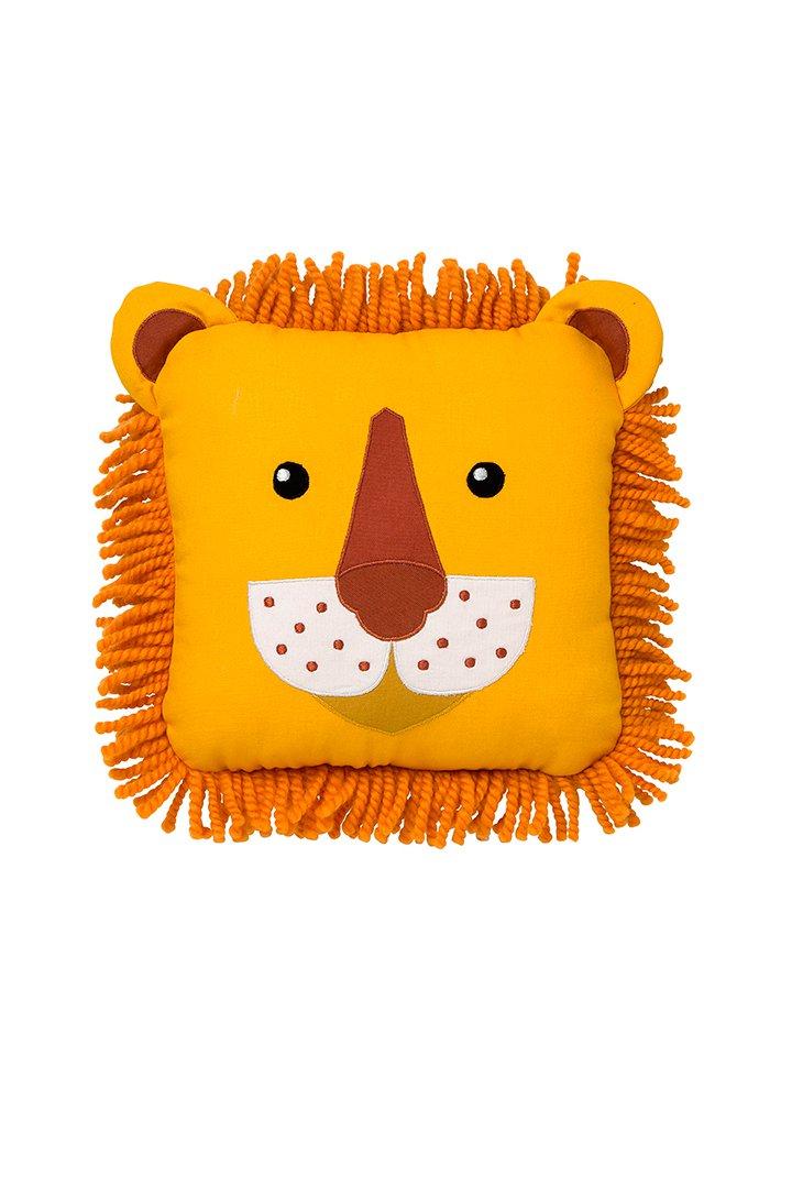 Cojín con forma de león de Mini Home en El Corte Inglés
