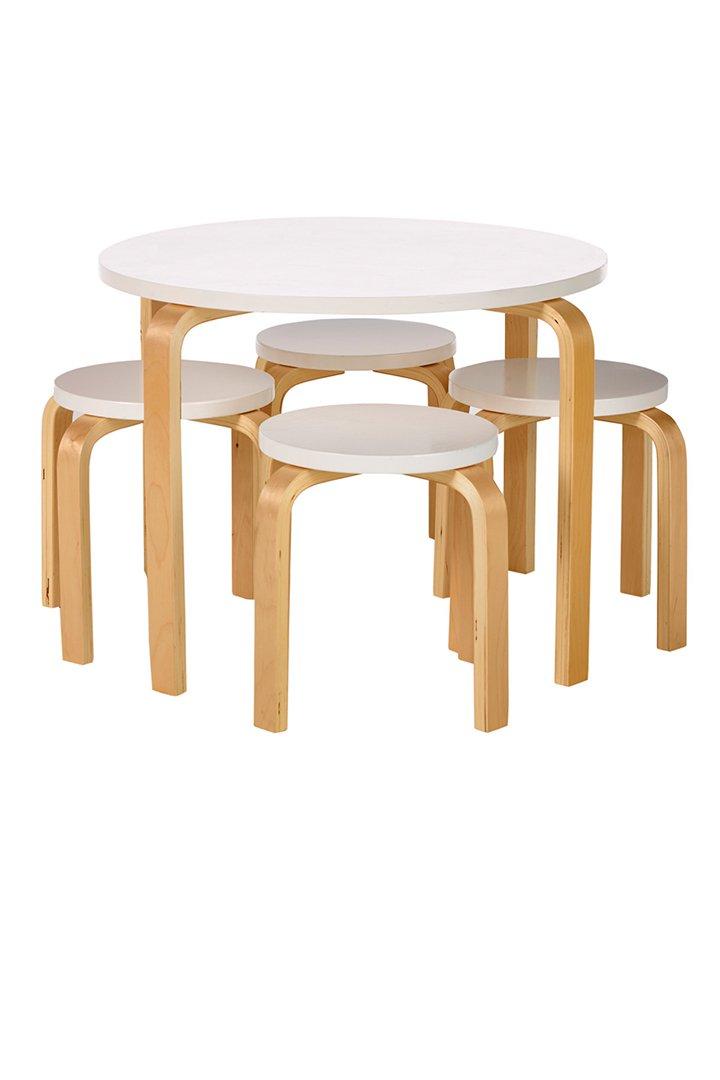 Set mesa + 4 taburetes Mini Home de El Corte Inglés