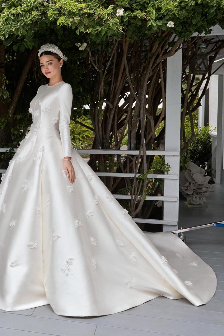 vestidos de novia de celebrities - stylelovely