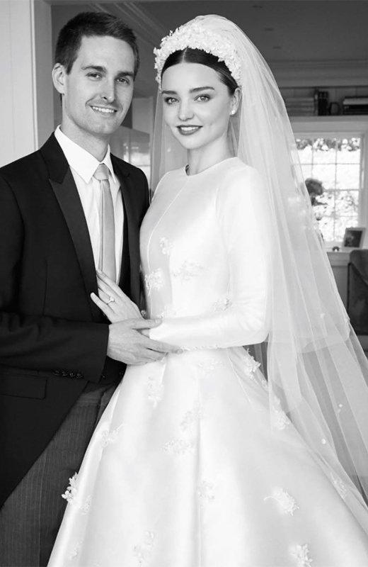 miranda kerr vestido de novia