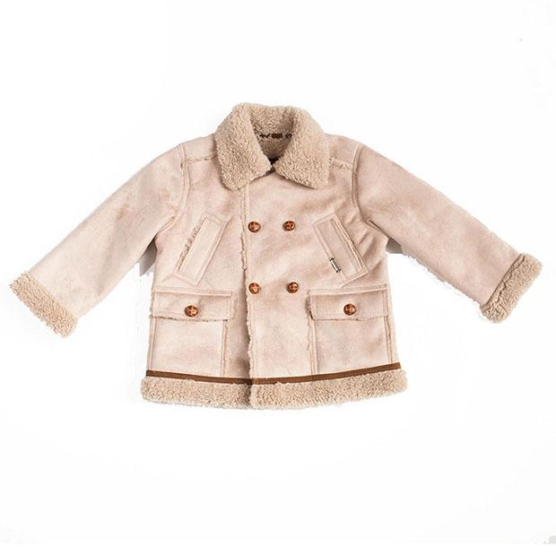 Ropa de niños otoño 2018: abrigo borrego