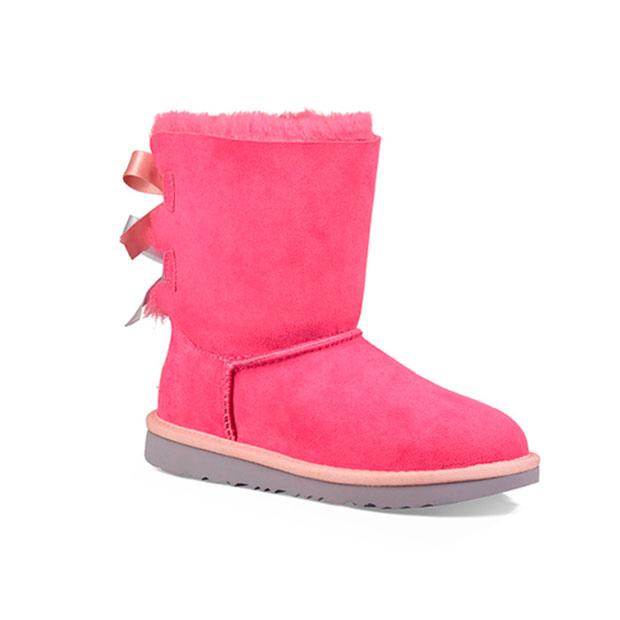 Ropa de niños otoño 2018: botas rosa fucsia