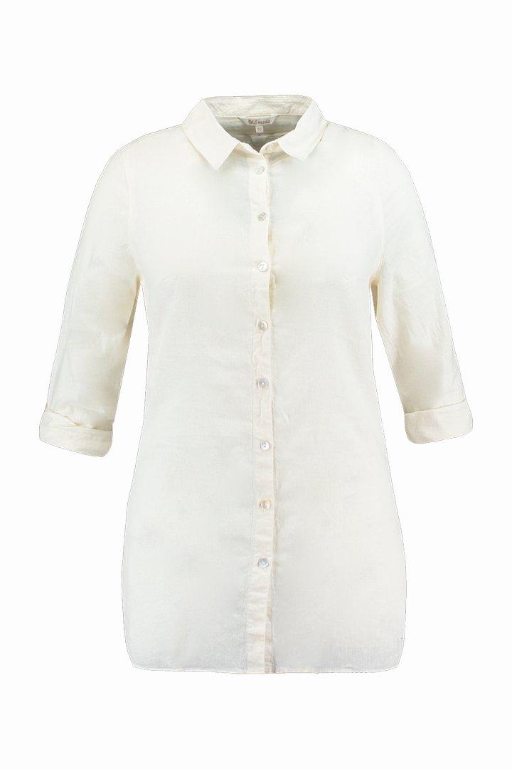 Camisa blanca de la colección FSTVL de Ms Moda