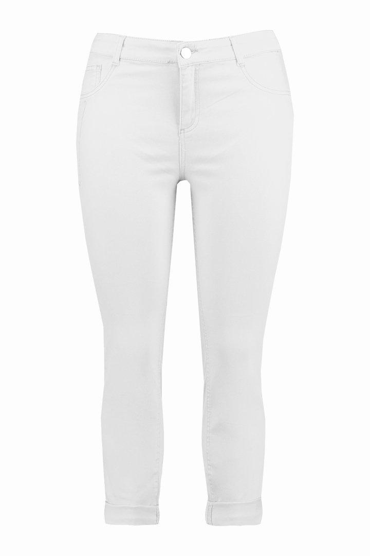 Pantalones blancos de la colección FSTVL de Ms Moda