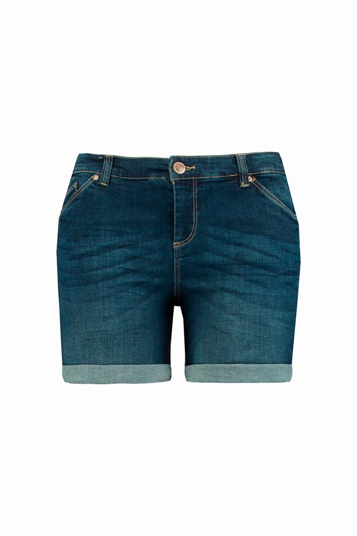 Shorts vaquero oscuro de la colección FSTVL de Ms Moda
