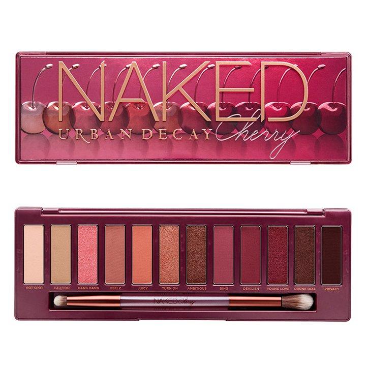 Paleta Sombras de ojos Naked Cherry de Urban Decay: ediciones navideñas beauty