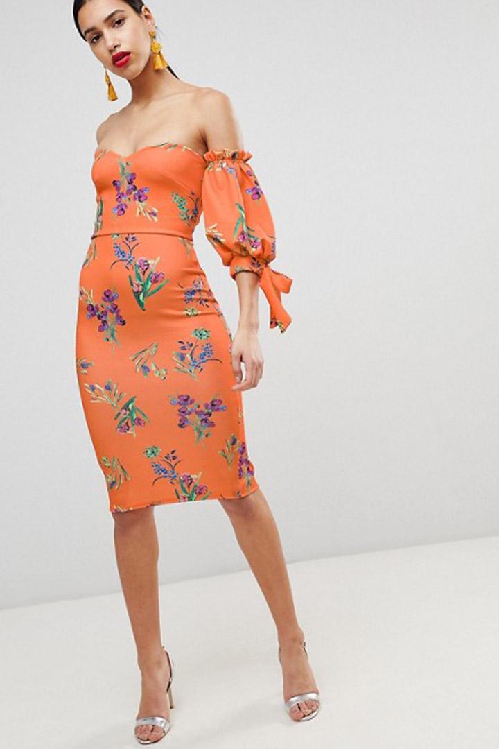 Asos: vestidos de invitada verano