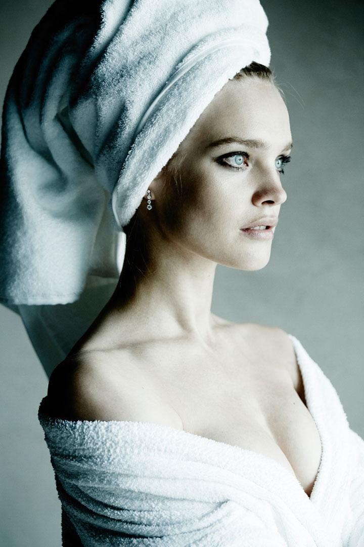 Natalia Vodianova Towel Series