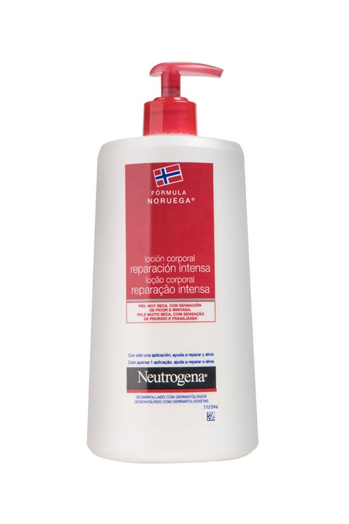 Loción Corporal Reparación Intensa de Neutrogena: Mejores cremas hidratantes corporales