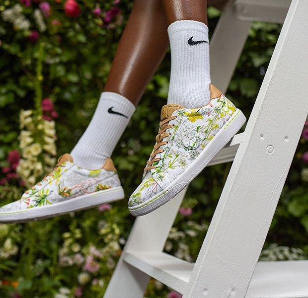 Modelo tennis classic de zapatillas de Nike
