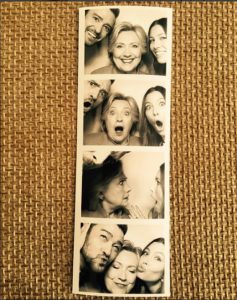 Justin Timberlake y Jessica Biel muestran su apoyo a Hillary Clinton