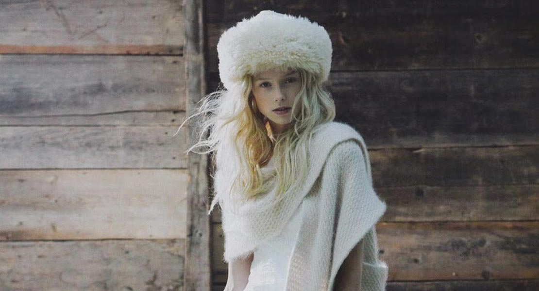 Novia de invierno… Combate el frío