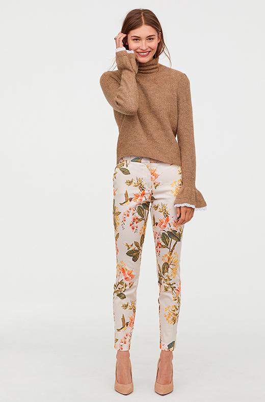 Pantalón de flores de H&M