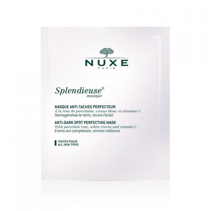 Mascarilla Anti-manchas Splendieuse de Nuxe: Cosméticos piel perfecta otoño
