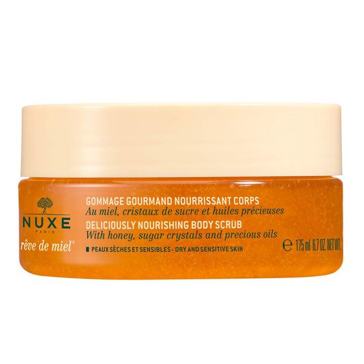 Exfoliante corporal nutritivo Rêve de Miel de Nuxe: Cosméticos piel perfecta otoño