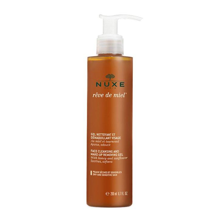 Gel Limpiador y Desmaquillante facial Rêve de Miel de Nuxe: imprescindibles rutina belleza