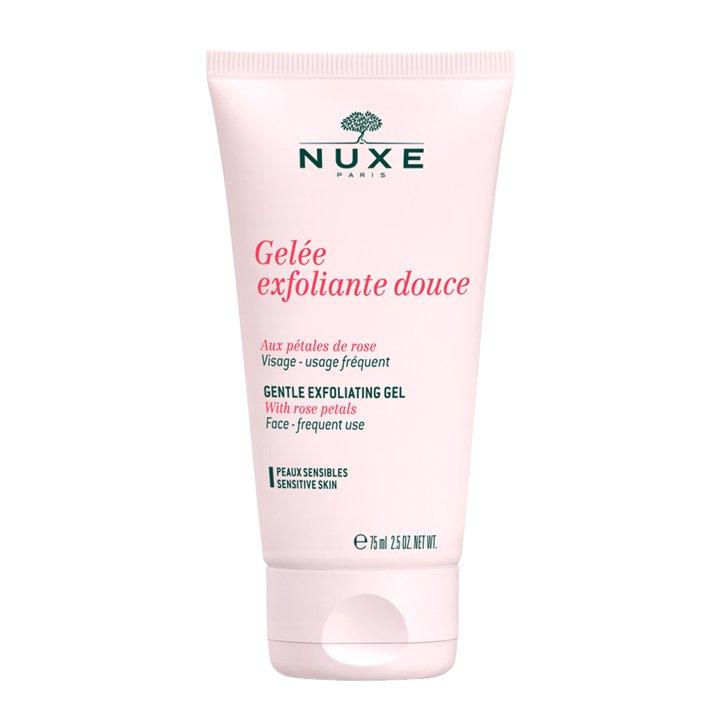 Gel Exfoliante suave con pétalos de rosa de Nuxe: productos cuidar piel seca invierno