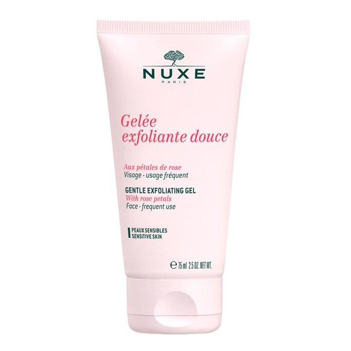 Gel Exfoliante suave con pétalos de rosa de Nuxe: productos piel sensible