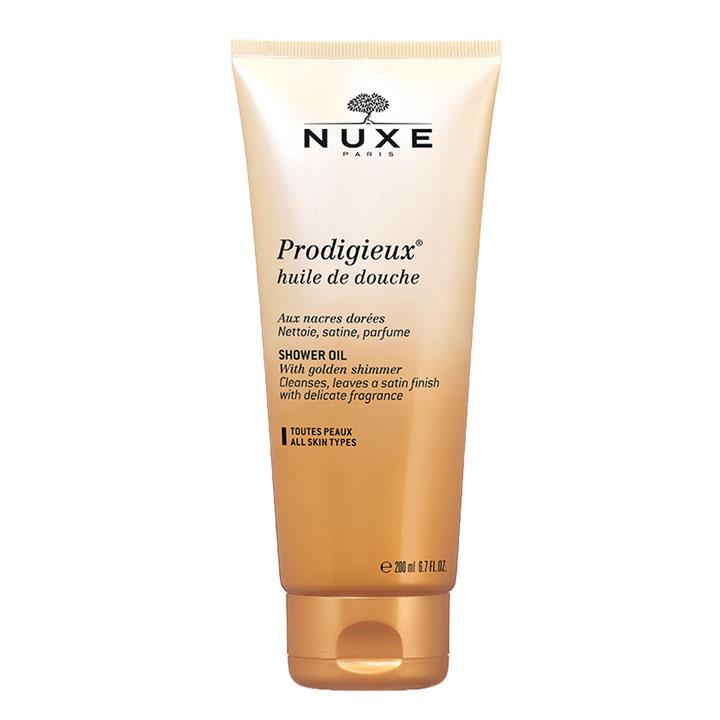 Aceite de ducha Prodigieux de Nuxe: productos prolongar bronceado