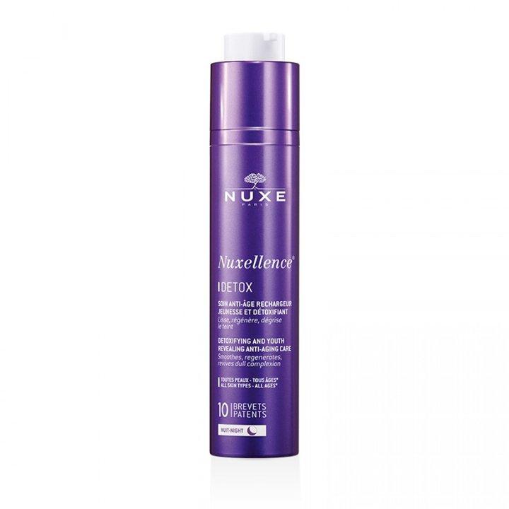 Nuxellence Detox de Nuxe: productos cuidar piel mientras duermes