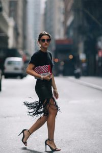 Influencers en New York Fashion Week