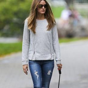 El look más comfy de Olivia Palermo