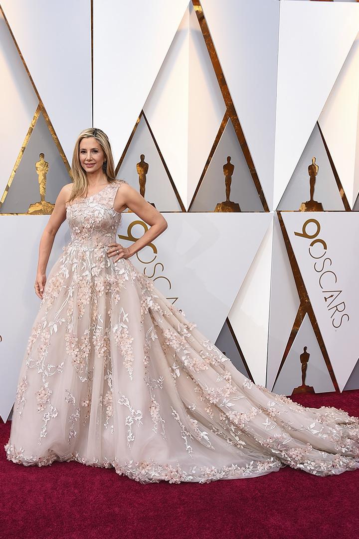 Mira Sorvino en los Premios Oscar 2018