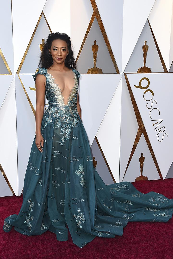 Betty Gabriel en los Premios Oscar 2018