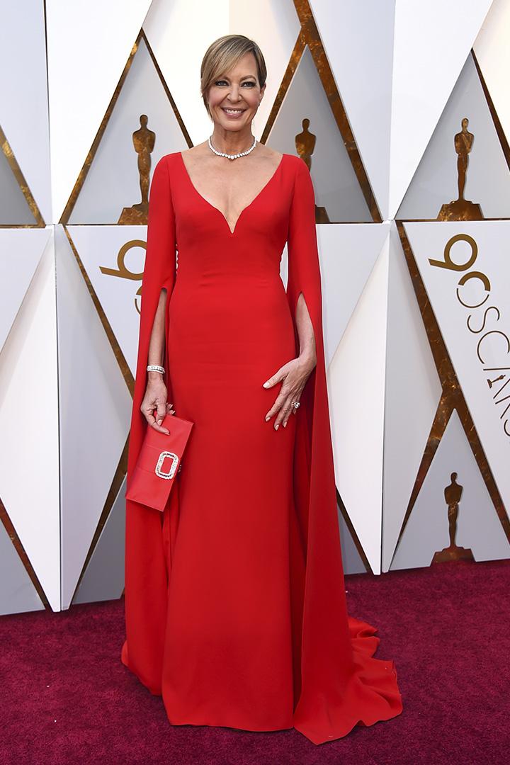 Allison Janney en los Premios Oscar 2018