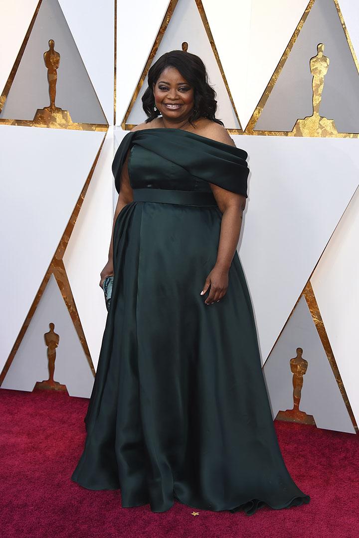 Octavia Spencer en los Premios Oscar 2018