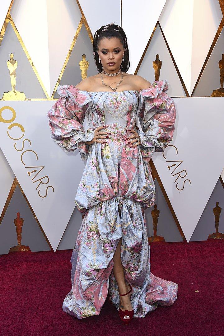 Andra Day en los Premios Oscar 2018