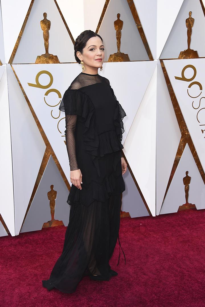 Natalia Lafourcade en los Premios Oscar 2018