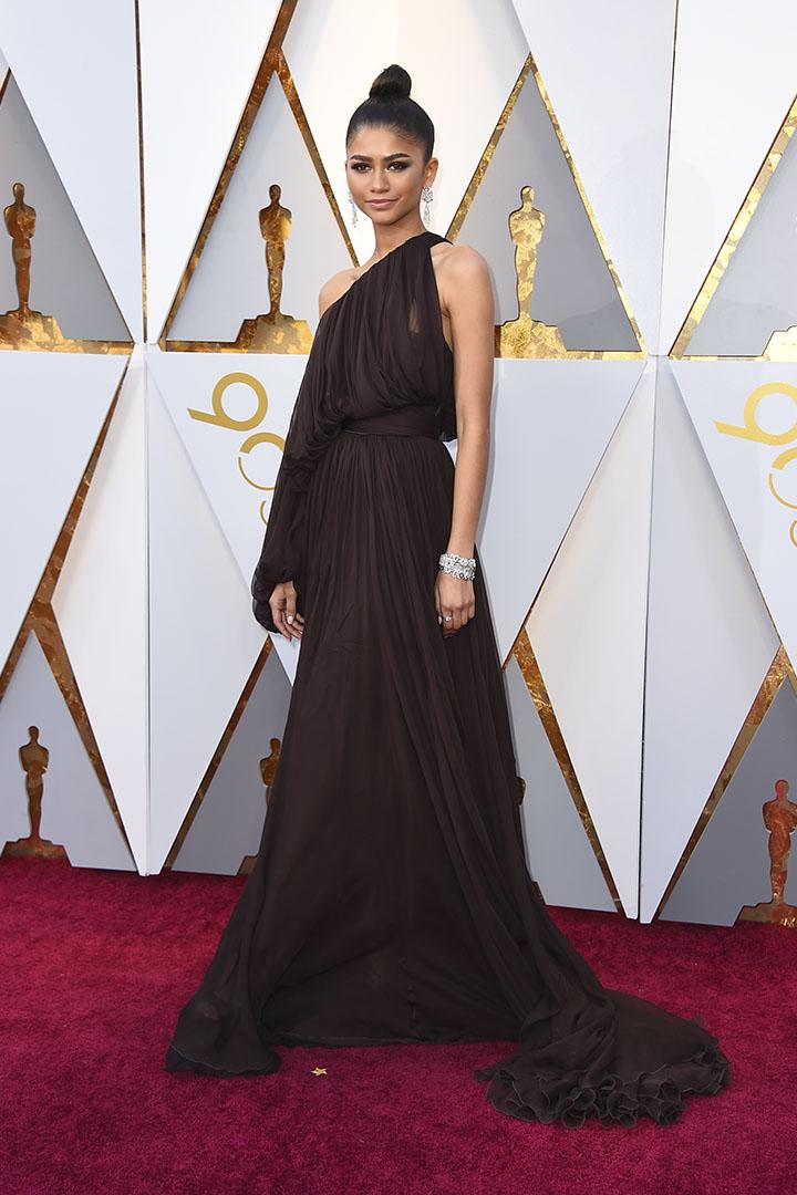 Zendaya en los Premios Oscar 2018