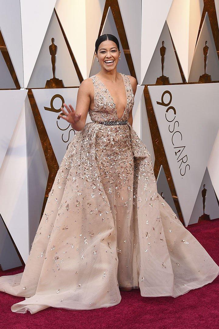 Gina Rodriguez en los Premios Oscar 2018