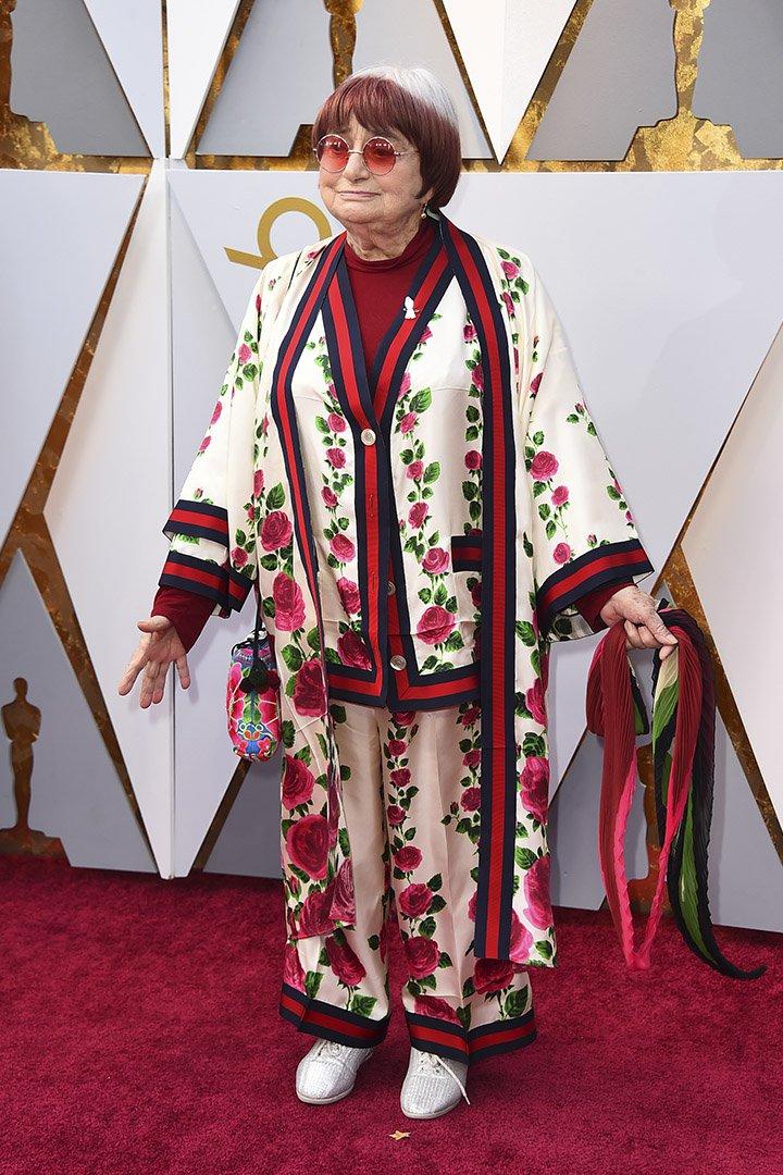 Agnes Varda en los Premios Oscar 2018