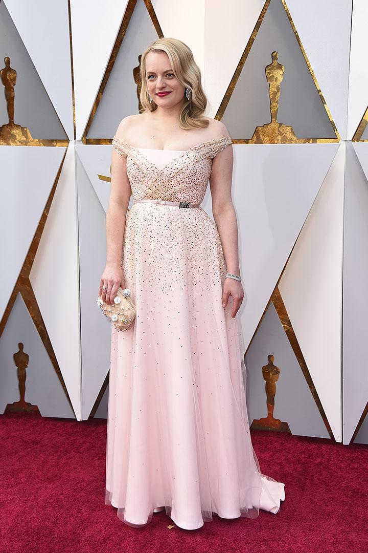 Elisabeth Moss en los Premios Oscar 2018