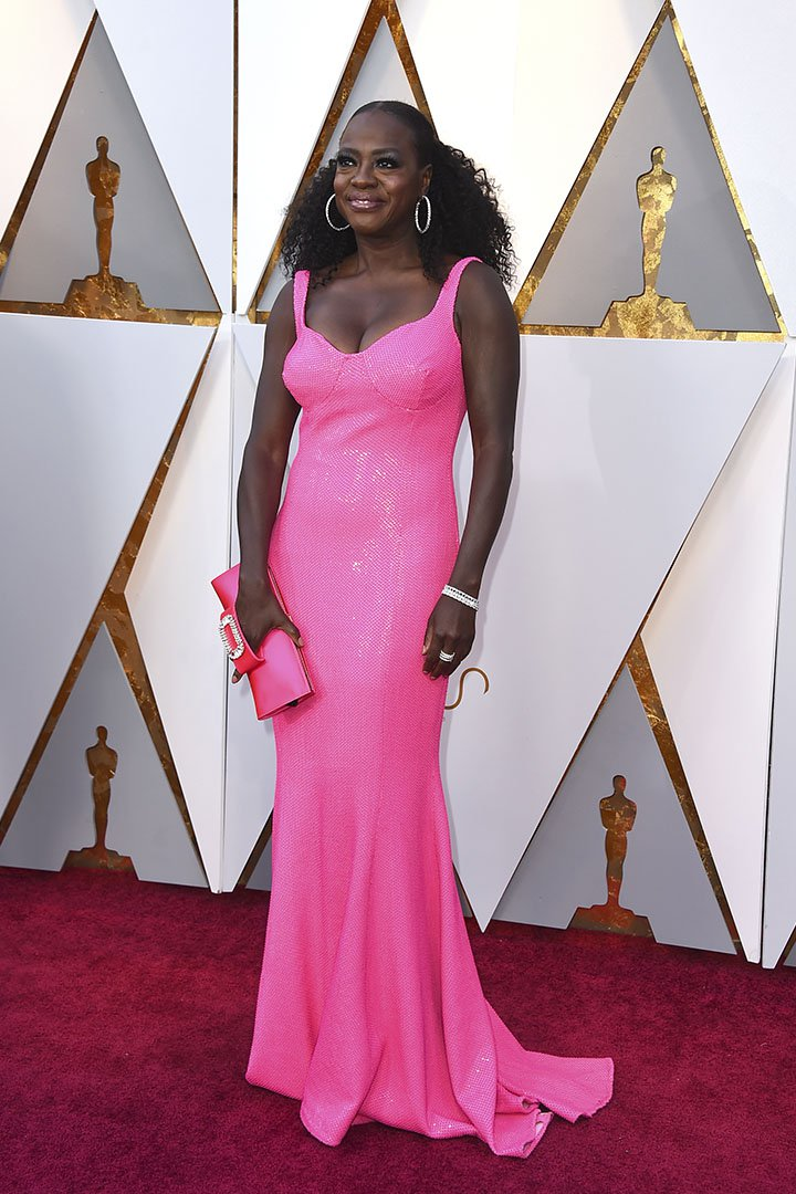 Viola Davis en los Premios Oscar 2018