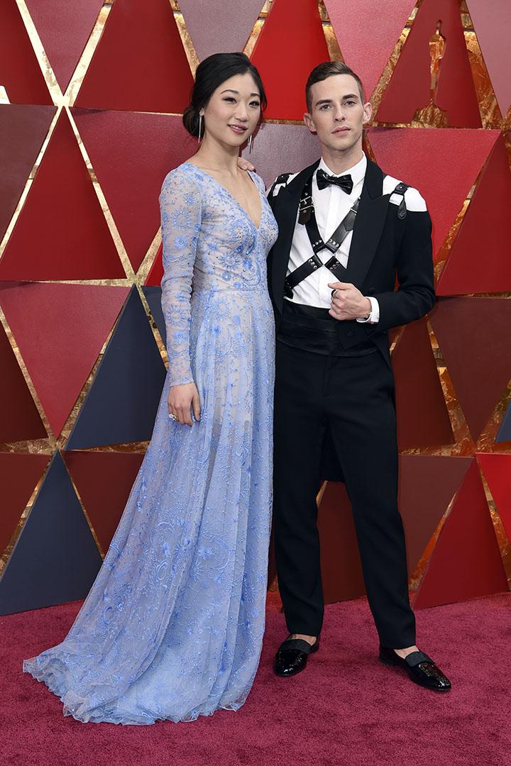 Mirai Nagasu en los Premios Oscar 2018