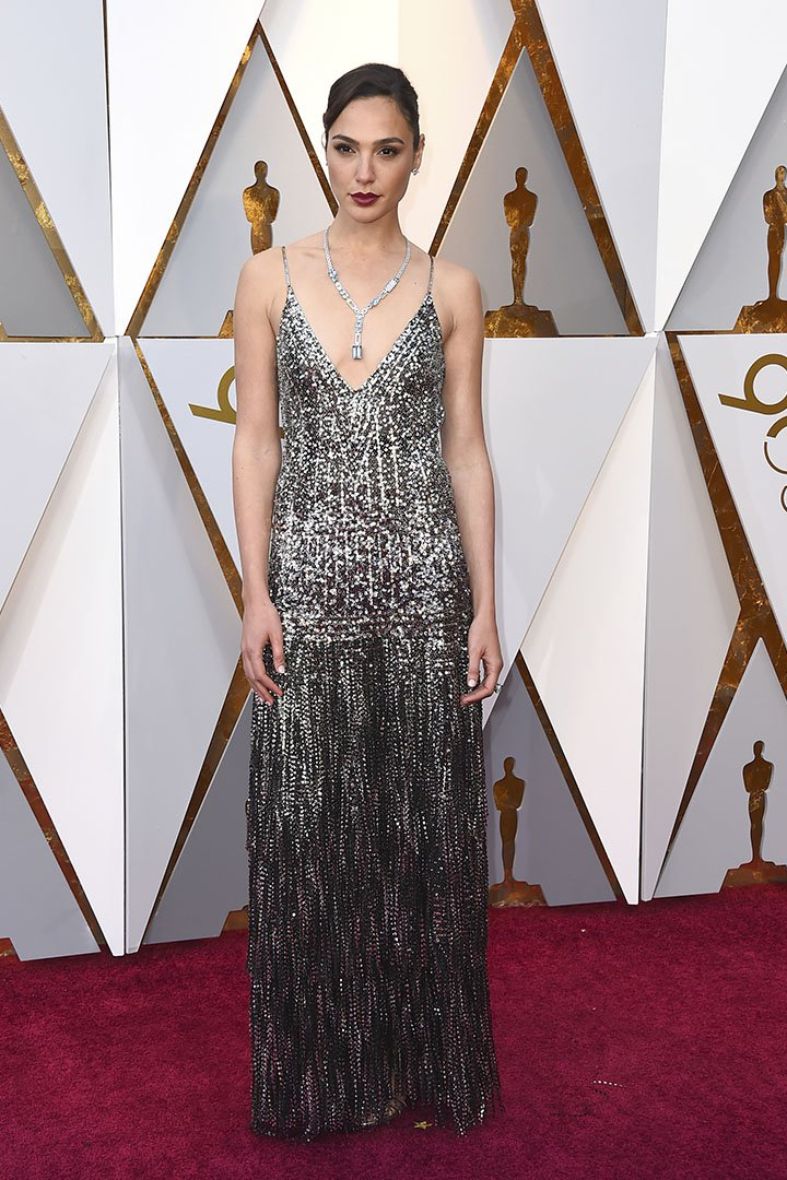 Gal Gadot en los Premios Oscar 2018