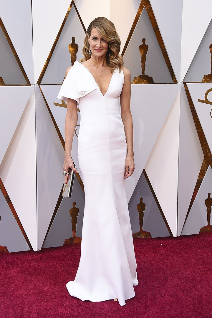 Laura Dern en los Premios Oscar 2018