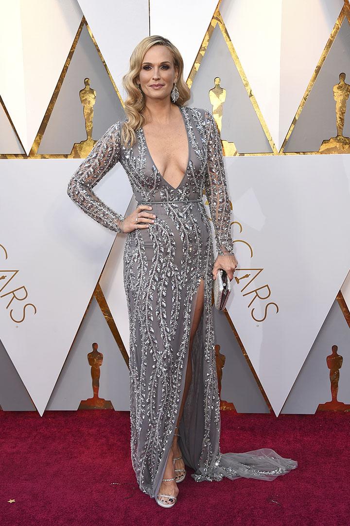 Molly Sims en los Premios Oscar 2018