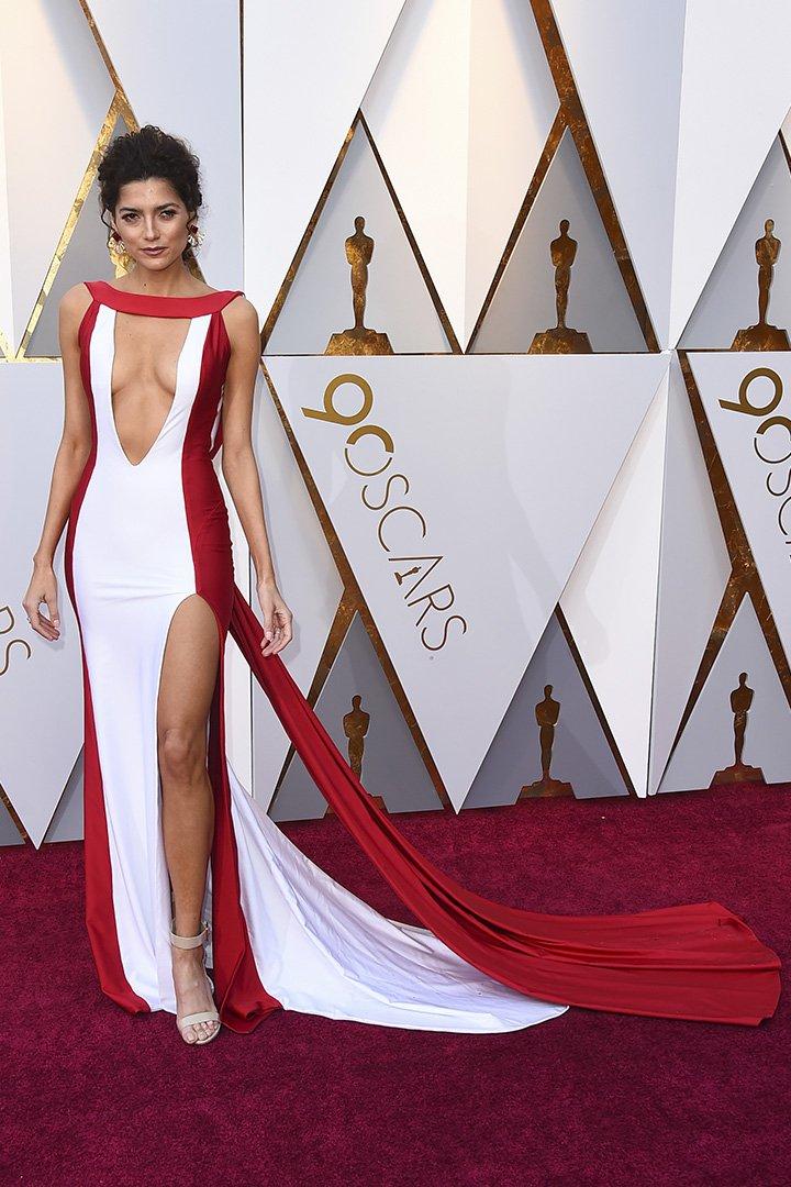 Blanca Blanco en los Premios Oscar 2018