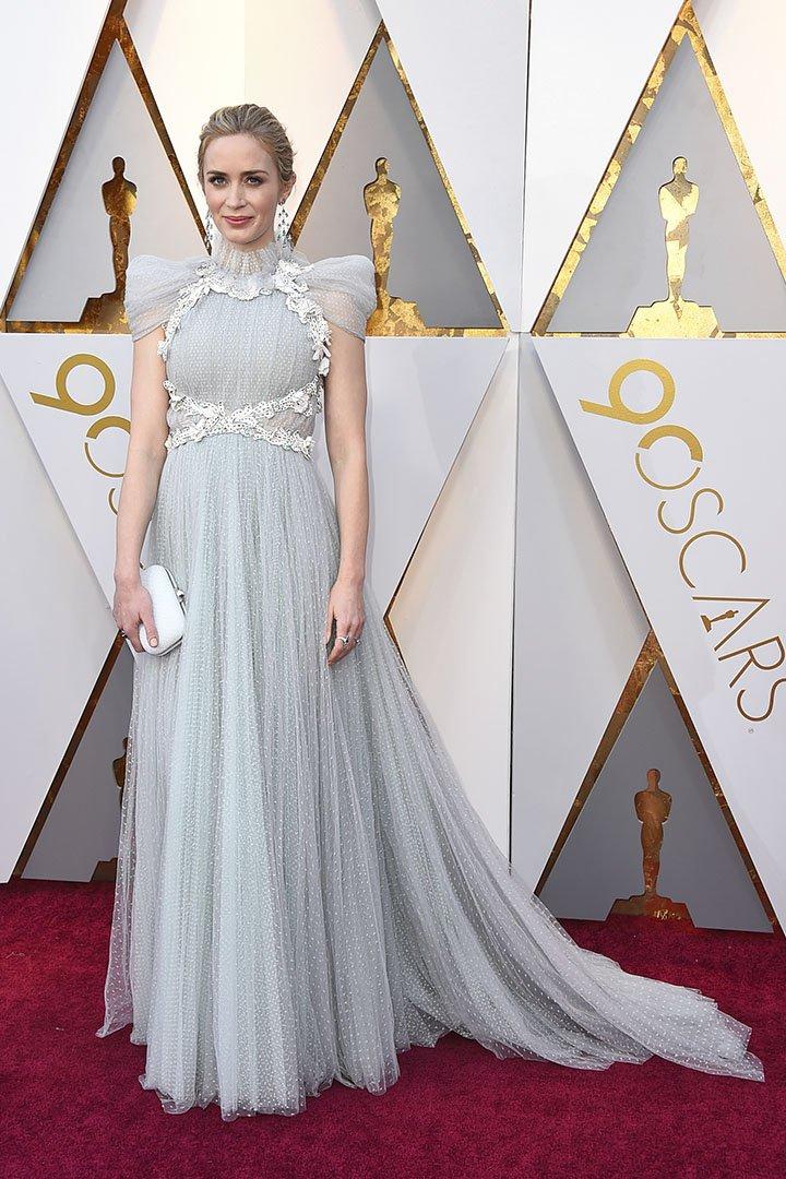 Emily Blunt en los Premios Oscar 2018