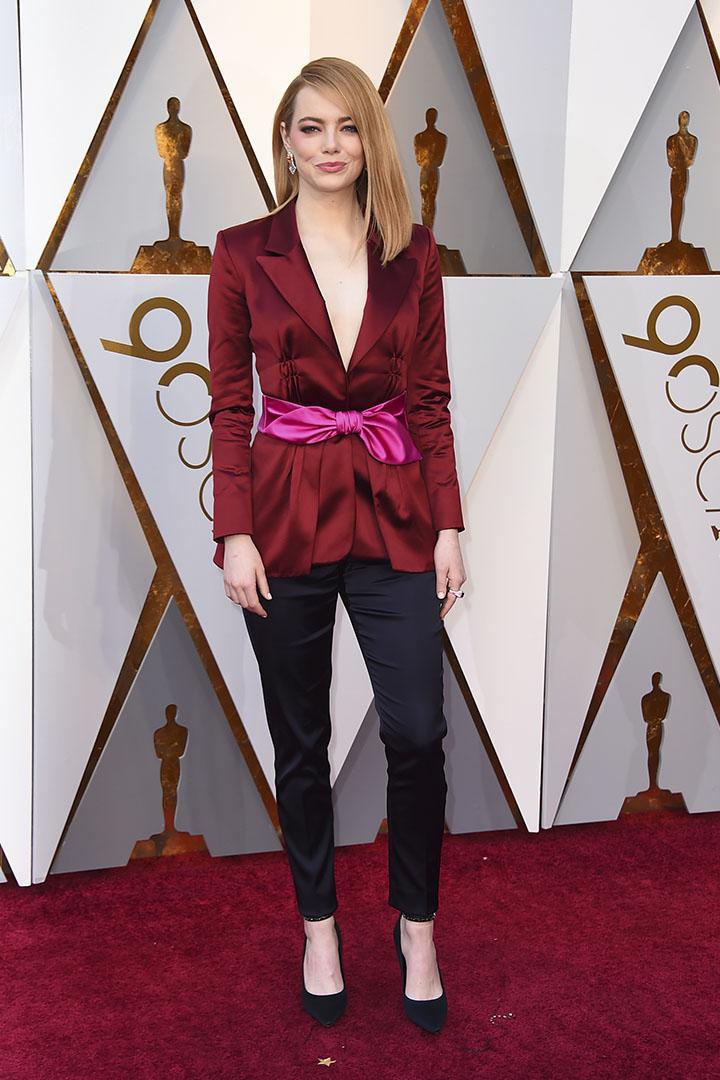Emma Stone en los Premios Oscar 2018