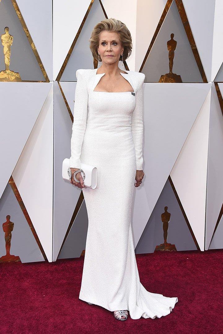 Jane Fonda en los Premios Oscar 2018