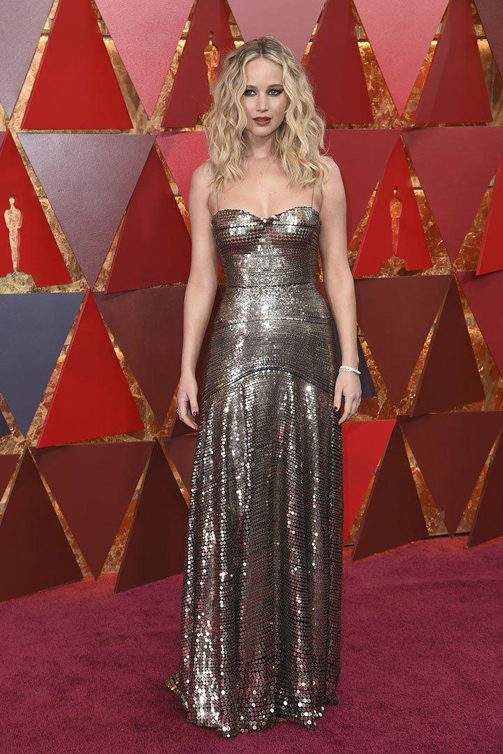 Jennifer Lawrence en los Premios Oscar 2018