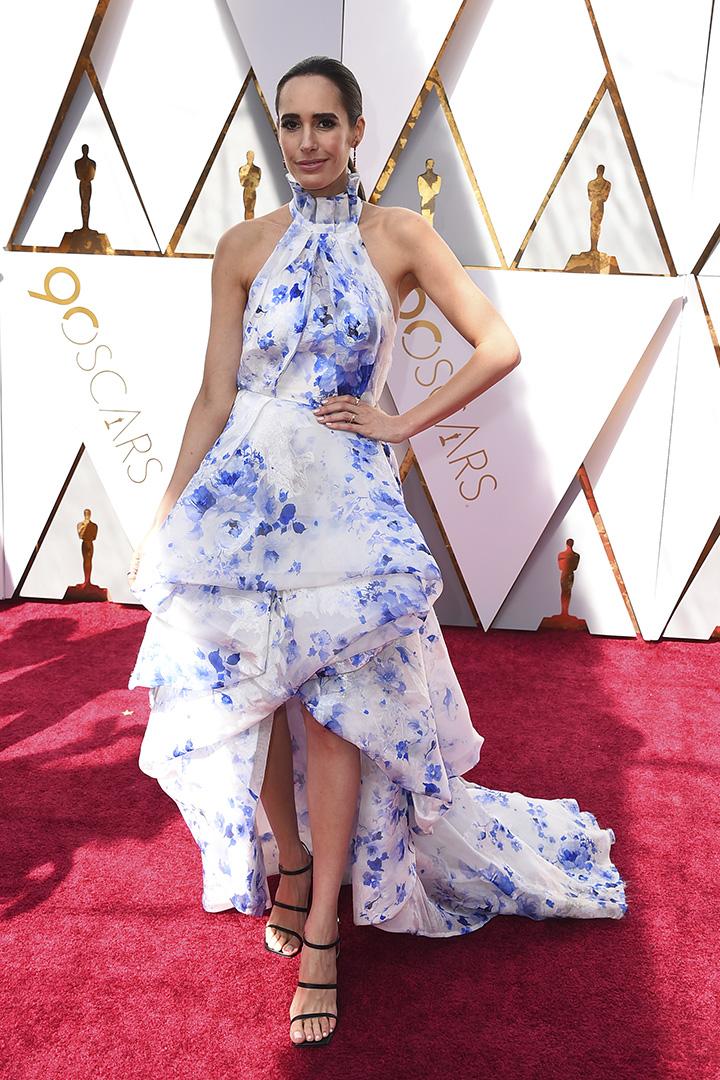 Louise Roe en los Premios Oscar 2018